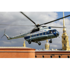 Helicopter City Tour in St. Petersburg, Russia