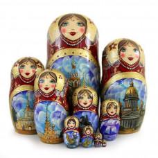Matryoshka Doll Master-Class in St. Petersburg, Russia