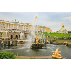 The Peterhof Tour: Grand Palace, Grottoes, and Fountain Park
