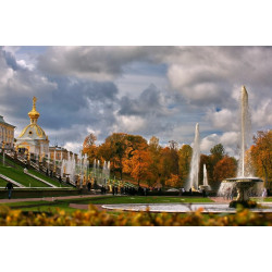 Peterhof: Grand Palace and Fountain Park Tour