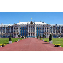 Pushkin: Catherine's Palace and Amber Room Tour
