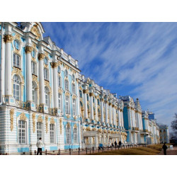 The Pushkin Group Tour: Catherine's Palace and Park incl. Amber Room