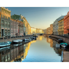Rivers and Canals Boat Tour in St. Petersburg, Russia