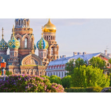 Famous Cathedrals of St. Petersburg, Russia