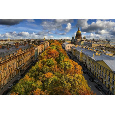 St. Petersburg Panoramic City Tour