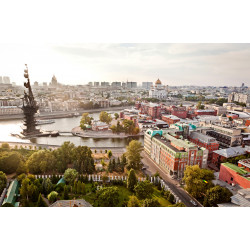 Moscow centre panorama