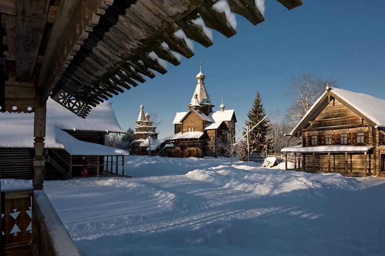 Vitoslavlitsy Open-Air museum of wooden architecture