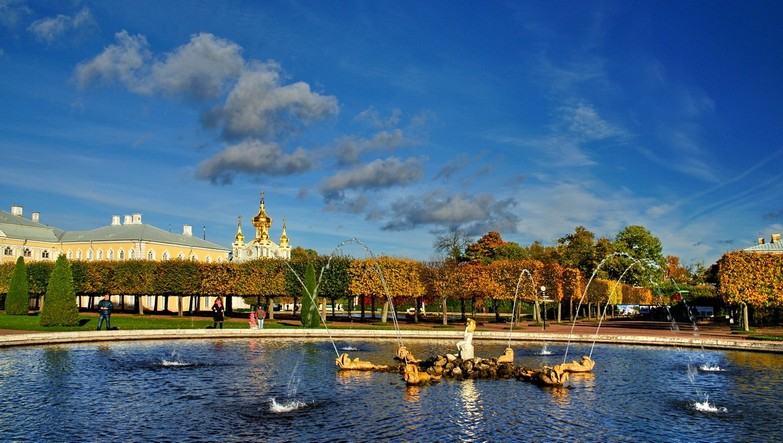 Peterhof Fountain Park