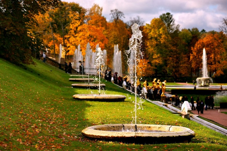 Fountain Park of Peterhof