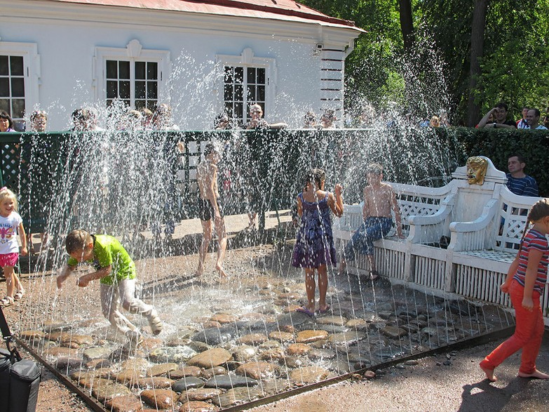 Peterhof Trick Fountains