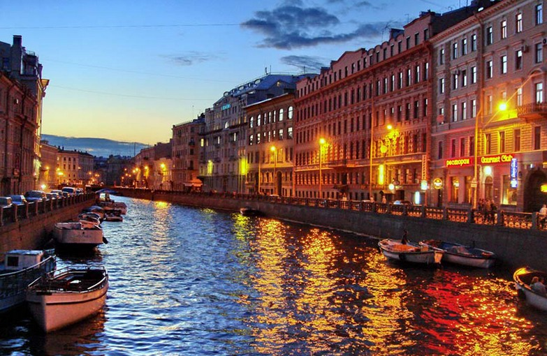 St. Petersburg Rivers and canals tour