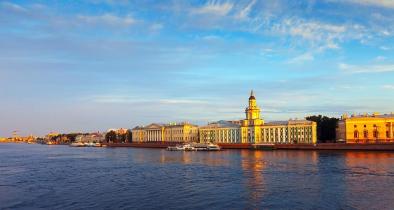 St. Petersburg city view